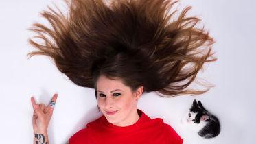 Hannah Rovetti wirbt für Pet Aid 3.0