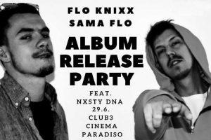 "Flo Knixx präsentiert Album mit Nxsty DNA @ <a href=""http://www.cityflyer.at/listing/cinema-paradiso/"">Cinema Paradiso</a>"