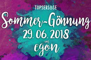 """Topseriöse Sommer-Gönnung #2 @ <a href=""""http://www.cityflyer.at/listing/egon/"""">Egon</a>"""