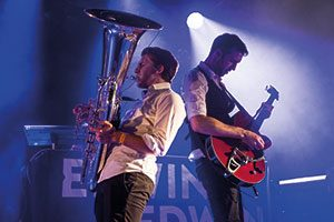"Erwin & Edwin live on stage im Club 3 @ <a href=""http://www.cityflyer.at/listing/cinema-paradiso/"">Cinema Paradiso</a>"