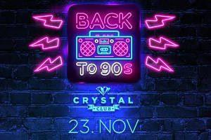 """Crystal Club präsentiert Back to the 90ies @ <a href=""""http://www.cityflyer.at/listing/rothschildschloss/"""">Rothschildschloss</a>"""