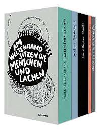 Philipp Weiss - Am Weltenrand sitzen die Menschen und lachen, Suhrkamp Verlag, 2018