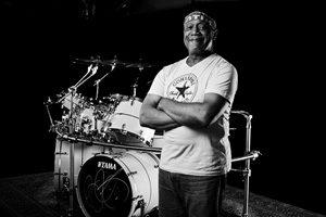 """Jazzrock Drummer Billy Cobham in der BIH @ <a href=""""http://www.cityflyer.at/listing/buehne-im-hof/"""">Bühne im Hof</a>"""