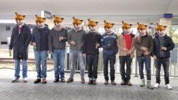 Die Kuhbus Gang bereit für neue Abenteuer. Foto: privat, z.V.g.