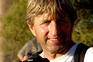 "Weltenbummler Sepp Kaiser beim Open Air @ <a href=""http://www.cityflyer.at/listing/cinema-paradiso/"">Cinema Paradiso</a>"