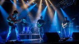 Die St. Pöltner Band Klanthu stand am Freitag den 6. September 2019 im Frei:raum erstmals auf der Bühne. Foto @ Claudia Zawadil für den City-Flyer