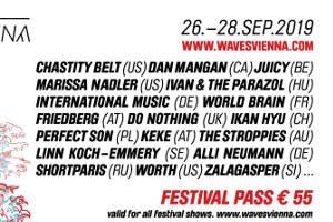 "Konferenz und Festival Waves Vienna 2019 @ <a href=""http://www.cityflyer.at/listing/wuk/"">WUK</a>"
