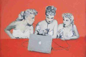 Margit J. Füreder - digital dreams @ Galerie Maringer