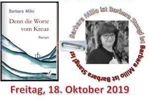 """Barbara Millo - """"Denn die Worte vom Kreuz"""" @ <a href=""""https://www.cityflyer.at/listing/schloss-rothschild/"""">Schloss Rothschild</a>"""