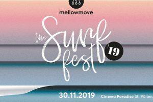 Mellowmove Surf Fest 2019 mit Lukascher @ Cinema Paradiso