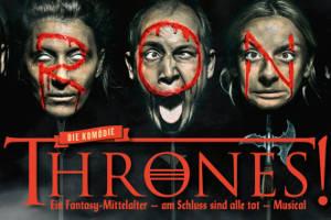 THRONES! Drachenfeuer unterm Königsarsch @ Kabarett Simpl