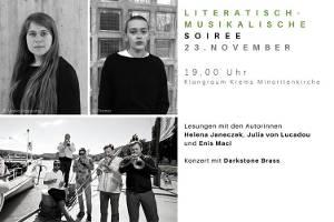 Literarisch-musikalische Soiree @ Klangraum Krems Minoritenkirche