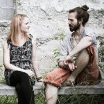 Katja und Alex von Green Coloured Sun. Fotoausschnitt © Anita Falkensteiner, z.V.g.