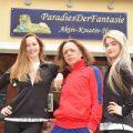 Das Kreativ-Team vom ParadiesDerFantasie: Marijana Popovic, Gerhard Hönigl und Antoinette Pylarinu. Foto © Josef Vorlaufer, z.V.g.