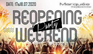 REOPENING Party WEEKEND @ MARQUEE @ Marquée Krems