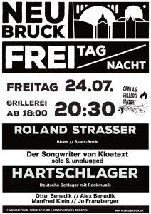 FREI TAG NACHT Konzert // Roland Strasser // Hartschlager @ Gastwirtschaft Neubruck
