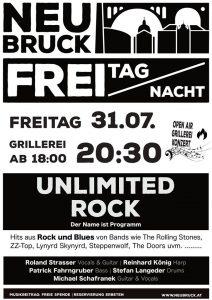 FREI TAG NACHT Konzert // unlimited Rock @ Gastwirtschaft Neubruck