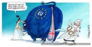 Tu felix Austria… zeichne!  - 25 Jahre Österreich in der EU @ Karikaturmuseum Krems