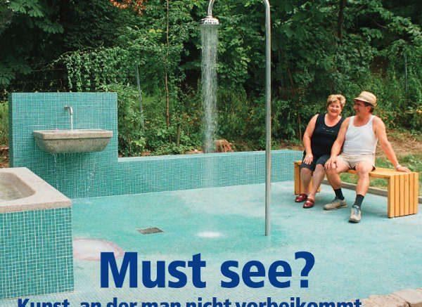 Die aktuelle Ausgabe des Zeitschrift kunstSTOFF beschäftigt sich in ihrer Titelgeschichte mit der Kunst im öffentlichen Raum.