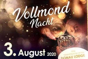 Vollmond-Nacht @ DONAU LODGE