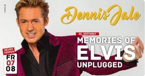 Dennis Jale – ELVIS unplugged @ Bühne im Gericht