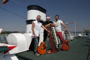 Die Drei-Faltigen im PortoVelo in Krems-Hollenburg @ Porto Velo