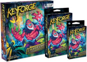 KeyForge Massenmutation Sealed Event @ JuPet Brettspiele