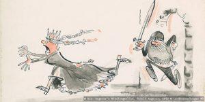 Angerer's Nibelungenlied @ Karikaturmuseum Krems