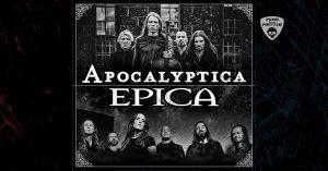 Apocalyptica + Epica • The Epic Apocalypse Tour • Vienna @ Planet TT Bank Austria Halle im Gasometer