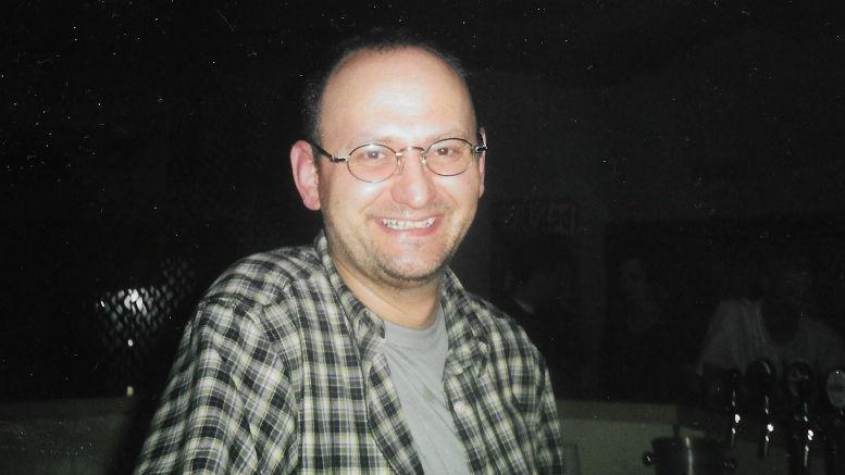 """Tratschen mit dem ehemaligen Clubbesitzer Andreas Lang üner """"20 Jahre Cave"""". Foto: privat"""