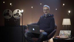 Martin Rotheneder, der Künstlerische Leiter des Freiraum St. Pölten, im hauseigenen Studio. Foto musik.stp, z.V.g.