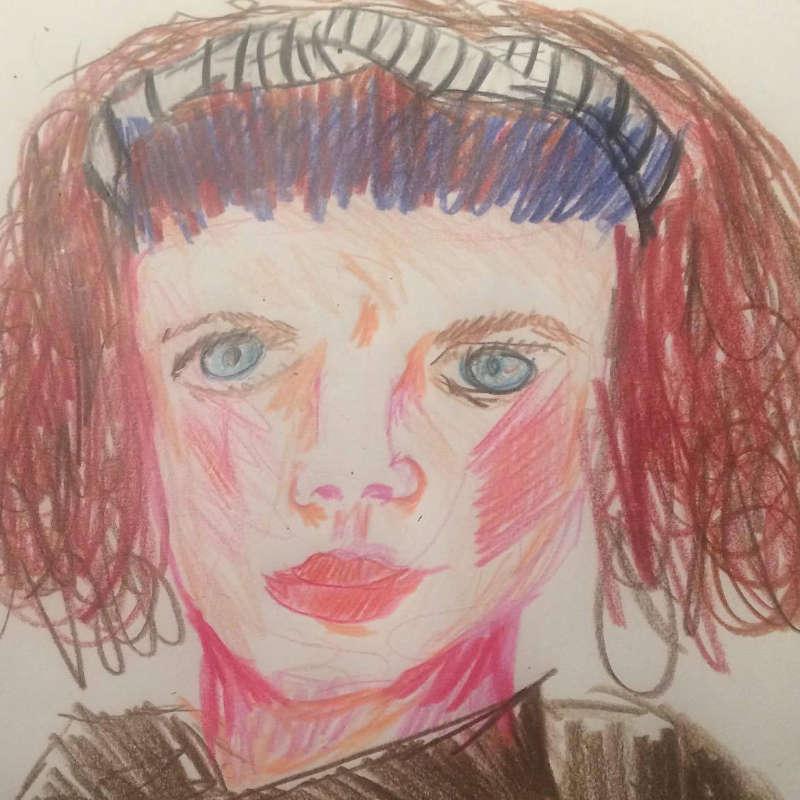 Susi Scheucher Seltsame Selbstportraits