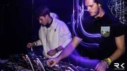 Roman Koberwein (rechts) aka KISMET aka DJ Tintifucks Foto: Robin König, z.V.g.