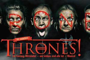 THRONES - Drachenfeuer unterm Königsarsch @ Kabarett Simpl